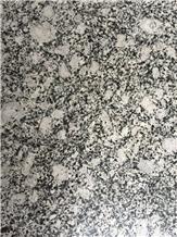 G418 Spray White China Granite Sea Wave Tile Slab