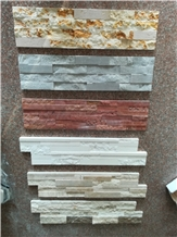 Marble Cultured Stones Veneer Wall Cladding Panels