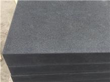 Black Granite Nero Assoluto Flamed Paving Stones
