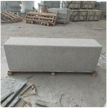 G623 China Grey Granite Bush Hammered Chair Bench