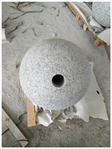 G623 Grey Granite Surface Flamed Parking Balls