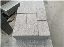 G648 Chinese Red Granite Surface Flamed Pavers