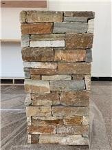 Hebei Multicolor Stone Rusty Slate & Panel Veneer