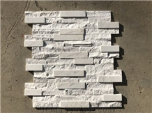Marble Ledger Panel Cultured Stacked Stone Veneer