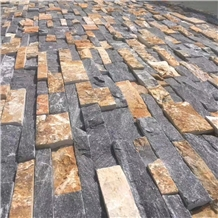 Mixed Color Slate Feature Wall Cultured Stone