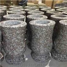 Violet Luoyuan Granite G664 Vase Flower Pots