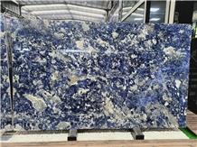 Blue Sodalite Slabs,Royal Azul Sodalite Slabs