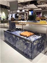 Inka Blue Sodalite Granite,Royal Blue Sodalite