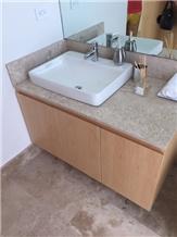 Durango Travertine Bathroom Countertop, Vanity Tops