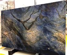 New Dream Sapphire Dark Blue Granite Slab Tile
