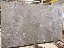 Volga Grey Phantom Gray Magic Marble Slab Tile