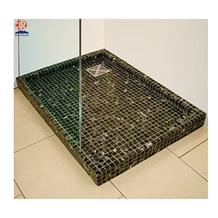 Dark Emperador Marble Stone Mosaic Shower Trays
