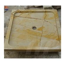 Gold Marble Slate Stone Deep Shower Trays
