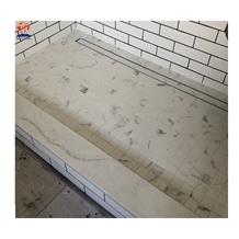 Quartz Stone Base Shower Tray Bathroom Floor Tile