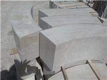 Medium Travertine Massive Block Steps