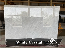 White Crystal Marble Slabs
