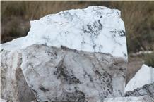 White/Gray Bengal Alabaster Blocks, Alabaster Raw Boulders