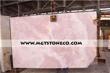 Iran Pink Onyx Slabs, Mgt Pink Onyx Slabs
