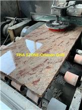 Orlando Gold Granite Tiles Slabs Cladding Flooring