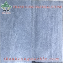 Silver Grey Marble Tiles Sanblasted