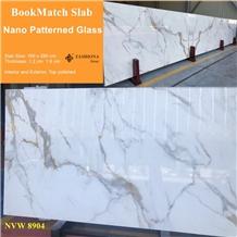 Bookmatch Nano Glass Marble, Interior & Exterior.