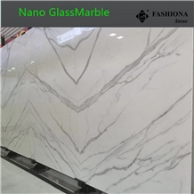Bookmatch Nano Glass Slabs,Interior & Exterior.