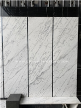New Carrara White Marble Bianco Statuario Slabs