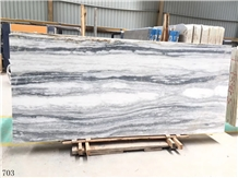 Fusion Grey Marble Wall Stone Tile Slab