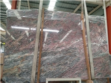 Iron Red Marble in China Stone Market