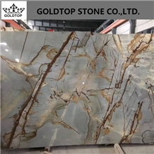 Natural Stone Blue Roma Quartzite Slabs Tiles