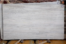Interior Calcite White Nature Marble Tile Slab