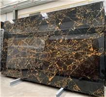Portoro Oriente Marble Slabs, Portoro Gold Marble
