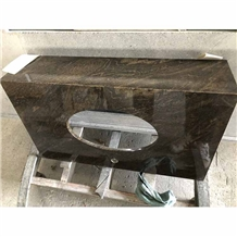 Fantasy Brown Granite Bathroom Vanity Tops