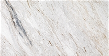 Butterfly Volakas Slabs and Tiles White Marble
