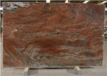Red Tempest Quartzite Slabs