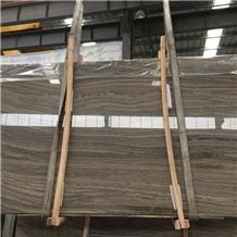 China Kylin Wood Marble,Armani Brown Marble Slabs