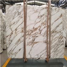 Italy Calacatta Favoloso Marble Pattern Slabs