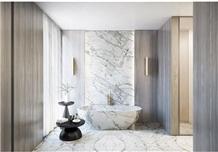 Luxury Marble Bathtub Panels Calacatta Oro Marble