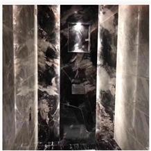 Phantom Black Marble Front Entrances Wall Tiles