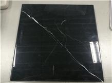 Polished Nero Centauro Marble Wall Tiles