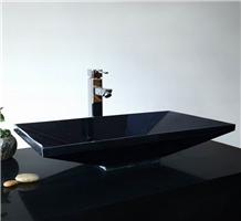 Absolute Black Natural Granite Sinks Wash Basins