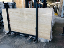 Beige Travertine Slab