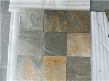 Indian Zeera Green Slate Tiles