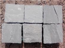 Kandla Grey Sandstone Cobble Stones