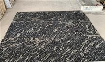 Black Markino Granite, River Black Granite Slab
