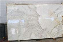 Calacatta Crestola Polished Marble Slab