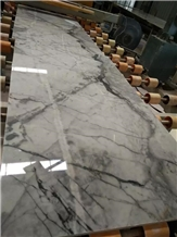 New Calacatta White, Calacatta Grey Marble Slabs