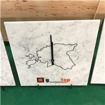Marble Clock, Custom Desgin
