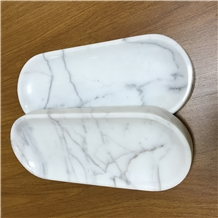 Marble Towel Tray , Staturio and Calacatta