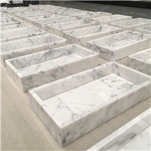 Rectangular Marble Tray, Spliced